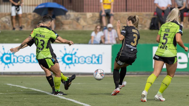 Michelle Heyman Goal shot