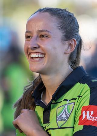 Bianca GALIC celebrates Canberra Win
