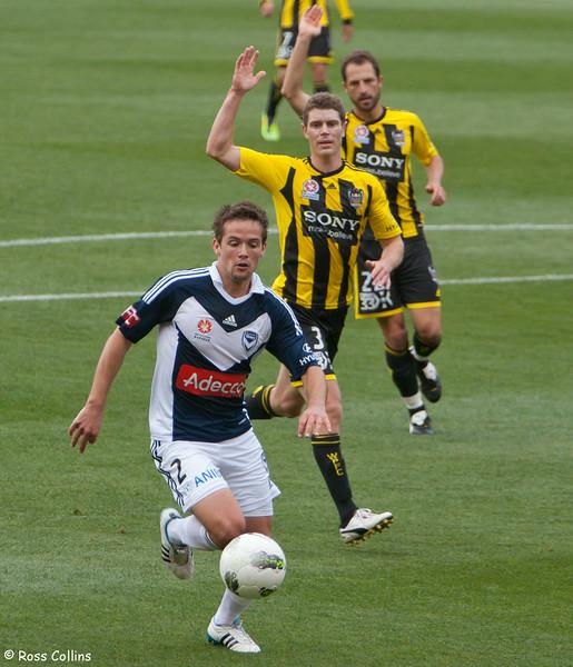 Wellington Phoenix vs. Melbourne Victory, Westpac Stadium, Wellington, 30 October 2011