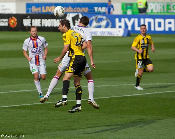 Wellington Phoenix vs. Perth Glory, Westpac Stadium, Wellington, 10 December 2011