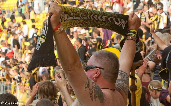 Wellington Phoenix vs. North Queensland Fury, Westpac Stadium, 13 February 2011