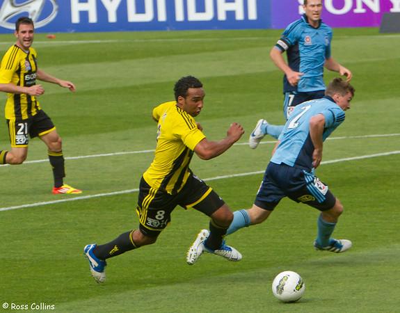 Wellington Phoenix vs. Sydney FC, Westpac Stadium, Wellington, 4 January 2012