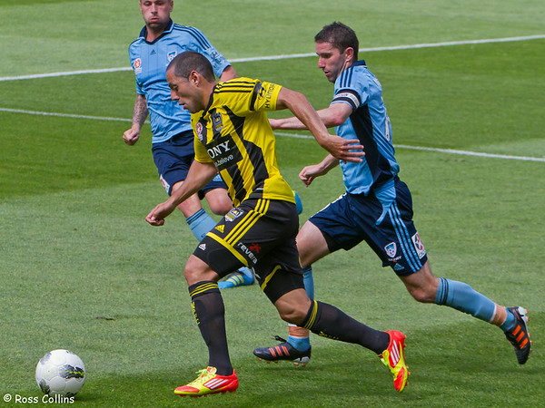 Wellington Phoenix vs. Sydney FC, Westpac Stadium, Wellington, 4 January 2012