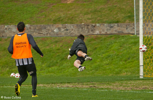 Phoenix in Training, Newtown Park, Wellington, 20 August 2010
