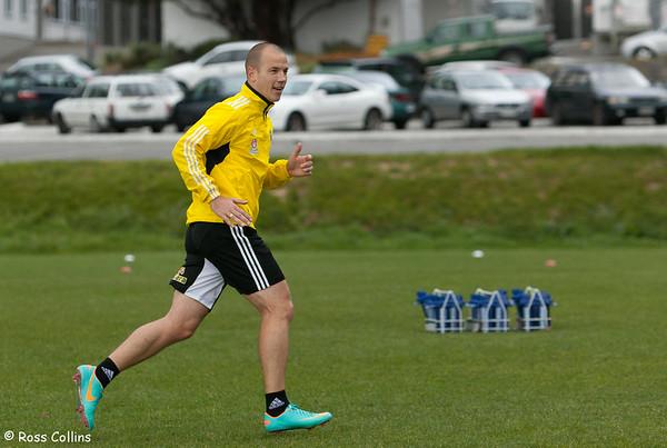 Phoenix in Training, Newtown Park, Wellington, 4 October 2012