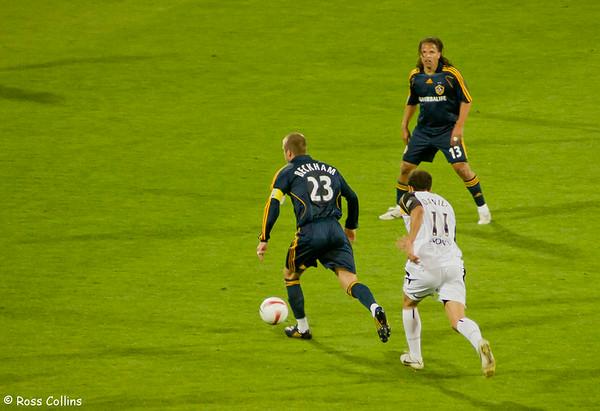 Wellington Phoenix vs. LA Galaxy, Westpac Stadium, Wellington, 1 December 2007
