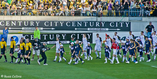 Wellington Phoenix vs. LA Galaxy, Westpac Stadium, Wellington, 1 December 2007