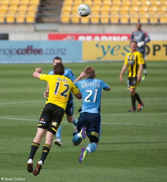 Wellington Phoenix vs. Sydney FC, Westpac Stadium, Wellington, 27 November 2011