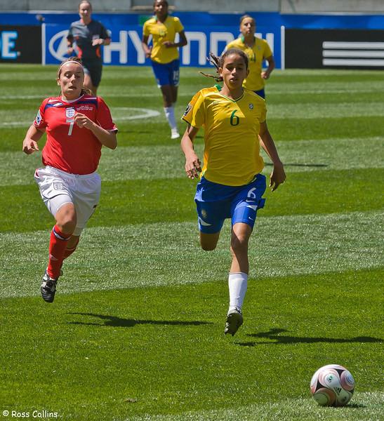 England vs. Brazil, FIFA U-17 Women's World Cup, Wellington, 30 October 2008