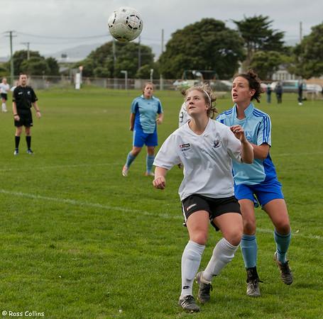 Seatoun vs. Valeron Wanderers, Women's Central League, Seatoun Park, Wellington, 2 June 2013