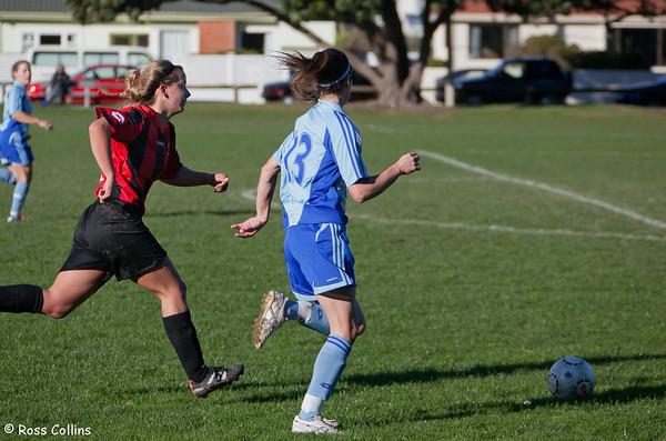 Seatoun vs. BNU Women, Seatoun Park, Wellington, 10 June 2012