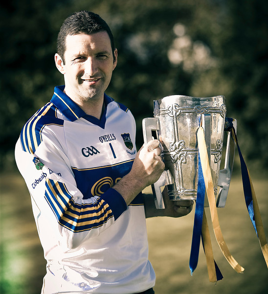 Tipperary Hurling legend Brendan Cummins Photographed at home for VIP magazine after all Ireland victory