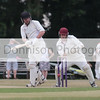 MDEP-24-06-2017-040 Garboldisham v Acle.   Acle wicket keeper Craig Press watches another close call for Garby