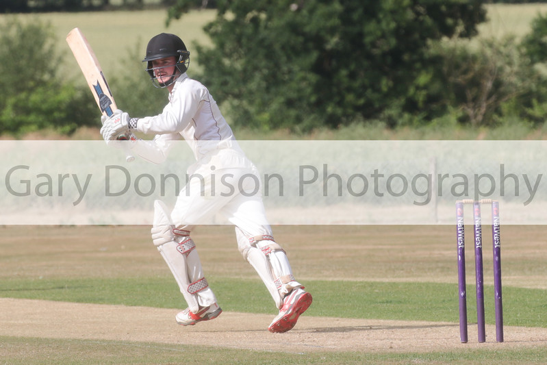 MDEP-24-06-2017-034 Garboldisham v Acle.  League Norfolk Cricket Alliance Division One Garboldishams overseas player Danny Cash in action