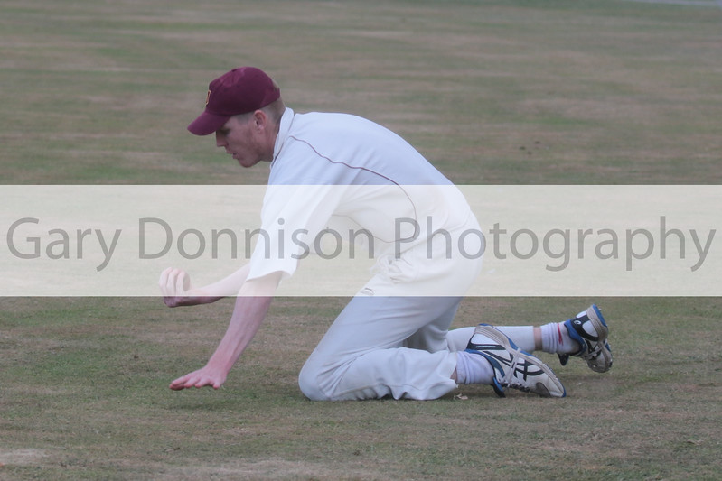MDEP-24-06-2017-037 Garboldisham v Acle.  League Norfolk Cricket Alliance Division One . Acle's Geoff Handley catches P Walker on the boundary
