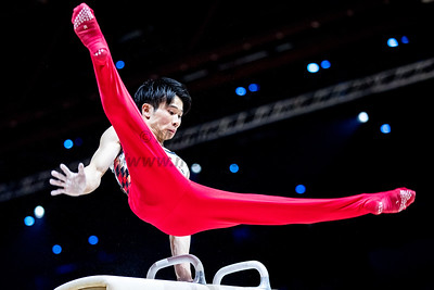 23rd Mar 2019, Mens Gymnastics World Cup, Resorts World Arena, Birmingham
