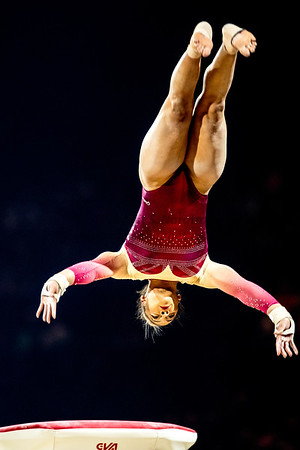 23rd Mar 2019, Womens Gymnastics World Cup, Resorts World Arena, Birmingham