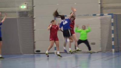 Handball kviner 16. Rørvik / Brønnøysund II