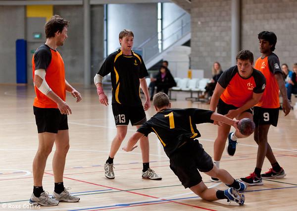 Wellington Handball Open 2012, ASB Sports Centre, Wellington, 16 September 2012