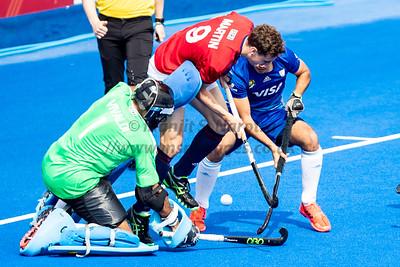 18th May 2019, FIH Pro League, Mens England vs Argentina18th May 2019, FIH Pro League, Womens England vs Argentina