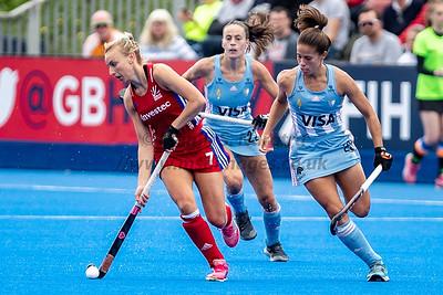 18th May 2019, FIH Pro League, Womens England vs Argentina18th May 2019, FIH Pro League, Womens England vs Argentina
