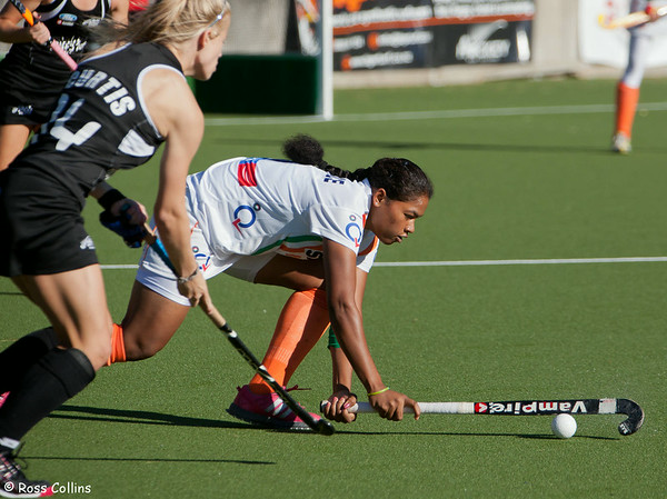 Black Sticks vs. India, 6th Test, National Hockey Stadium, Wellington, 15 December 2012