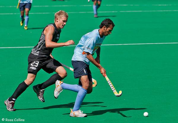 Black Sticks vs. India, National Hockey Stadium, Wellington, 21 February 2009