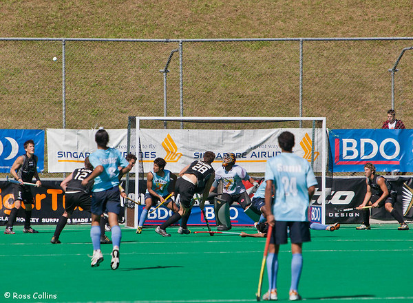 Black Sticks vs. India, 2nd Test, National Hockey Stadium, Wellington, 22 February 2009