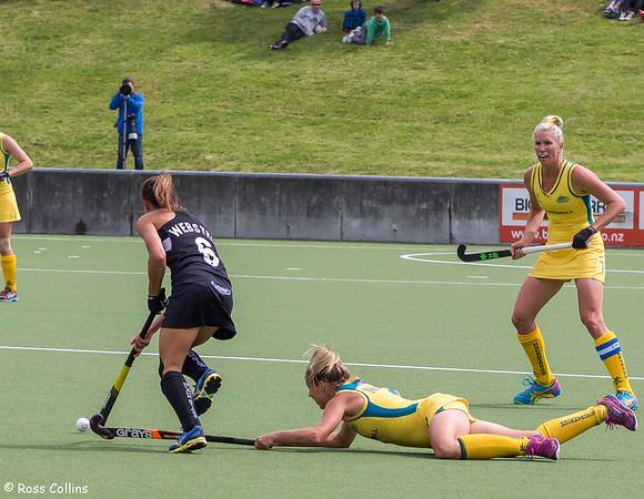 Black Sticks vs. Australia, National Hockey Stadium, Wellington, 15 November 2014