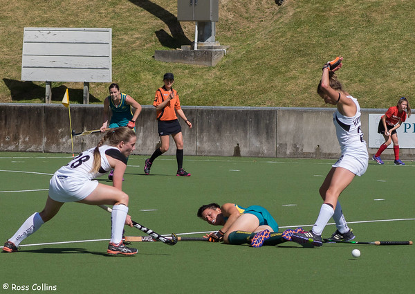 Black Sticks vs. Australia, National Hockey Stadium, Wellington, 16 November 2014