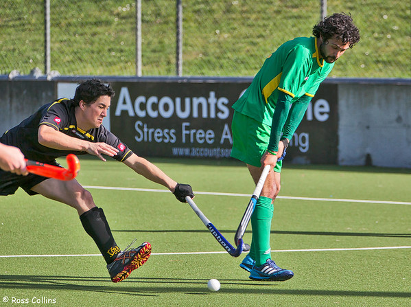 Capital vs. Central, 2012 National Hockey League, Round 1, Wellington, 18 August 2012
