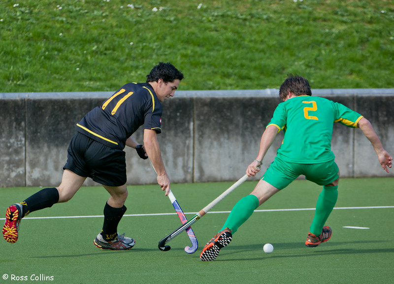 Capital vs. Central, 2012 National Hockey League, Round 1, Wellington, 18 August 2012