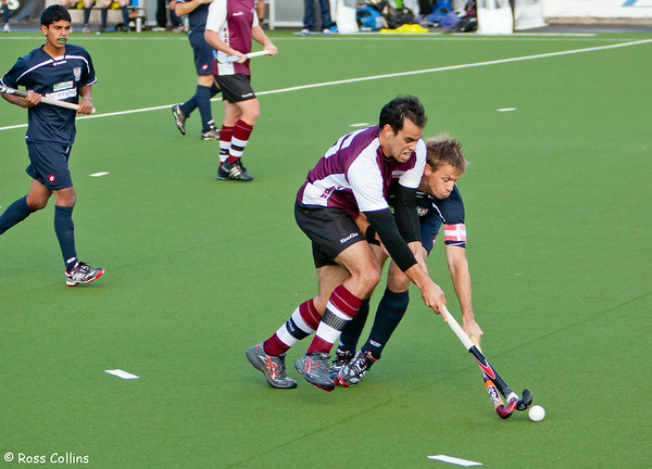 National Hockey League 2011 - Auckland vs. North Harbour (Men Round 4)