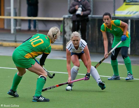 National Hockey League 2011 - Auckland vs. Central (Women Round 7)