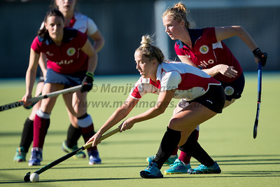 21st Oct 2018, Olton Ladies 1st XI vs Gloucester Ladies 1st XI, IWHL Women's Conference West
