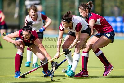 9th Mar 2019, Olron Ladies 1st XI vs Oxford Hawks Ladies 1st XI, IWHL Women's Conference West