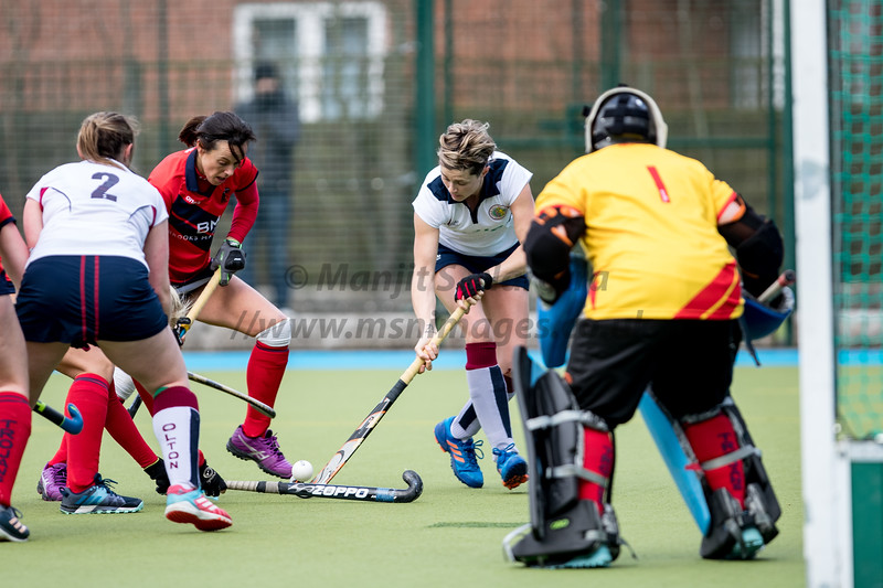 9th Feb 2019, Olton Ladies 1st XI vs Trojans Ladies, IWHL Women's Conference West
