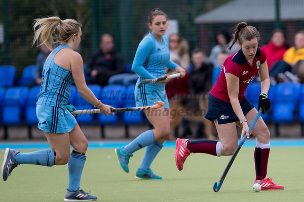 3rd Nov 2018, Olton Ladies 1st XI vs Reading Ladies 1st XI, West Warwickshire Spprts Club, IWHL Women's Conference West