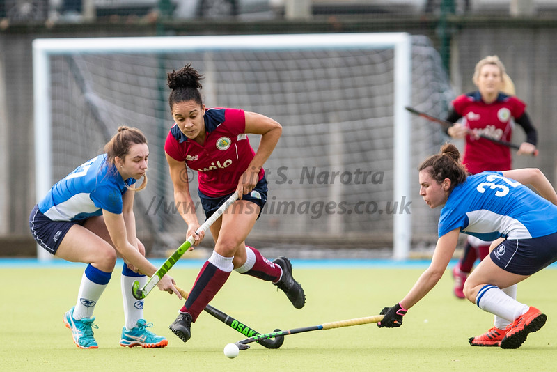 7th Dec 2019, Olton Ladies 1st XI vs Leeds Ladies 1st XI, IWHL Women's Division One North