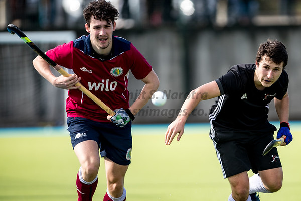 17th Mar 2019, Olton M1s vs Freham M1s, EHL Men's Conference West