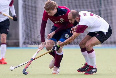 25th Nov 2018, Olton M1s vs Oxford Hawks M1s, EHL Men's Conference West