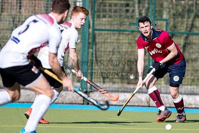 24th Feb 2019, Olton Mens 1st XI vs Univ of Bristol Mens 1st XI, EHL Men's Conference West
