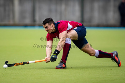 17th Nov 2019, Olton and West Warwickshire Mens 1st XI vs Sheffield Hallam Mens 1st XI, EHL Men's Division One North