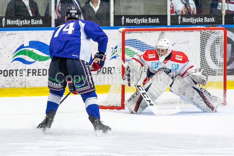Training match 2019-08-23 Frederikshavn White Hawks - Borås HC