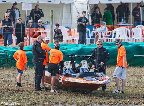 NZ Jetsprint Championship, Tauherenikau, 24 April 2010