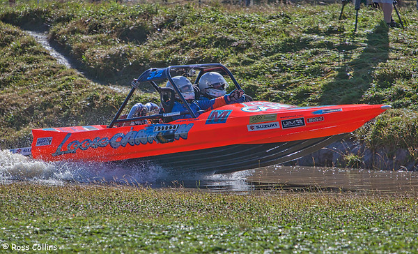 UIM World Series Jetsprint Championships, Featherston Round, Tauherenikau, 12 February 2012