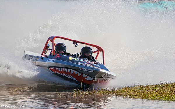 UIM World Series Jetsprint Championships, Featherston Round, Tauherenikau, 12 February 2012