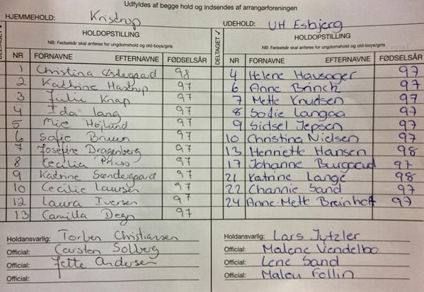 U14 Elitecup semi KB - UH Esbjerg-1