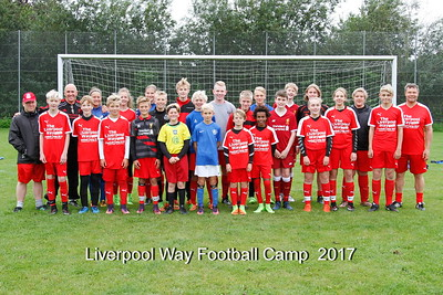 Liverpool way Football Camp 2017 Holdbilleder