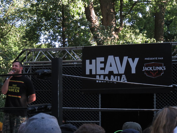 Heavy Montreal Lutte Heavy Mania 06-08-16